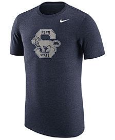 Nike Men's Penn State Nittany Lions Vault Logo Tri-Blend T-Shirt
