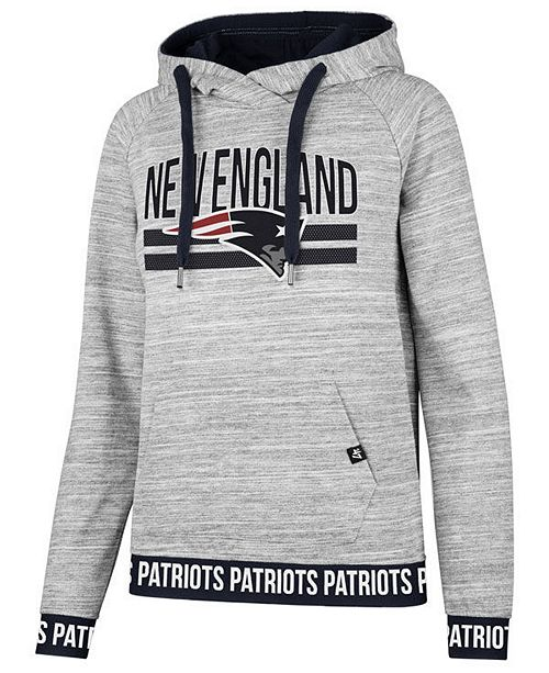 huge discount f7e8f c01d5 47 Brand Women's New England Patriots Revolve Hooded ...