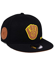 New Era Milwaukee Brewers X Wilson Side Hit 9FIFTY Snapback Cap