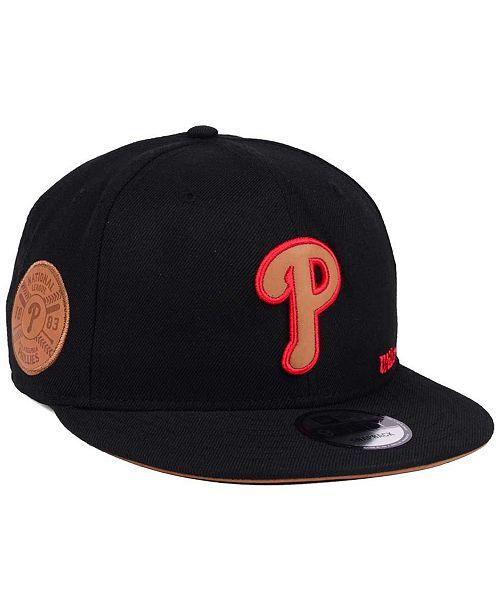 New Era Philadelphia Phillies X Wilson Side Hit 9FIFTY Snapback Cap ... db249ea98b74