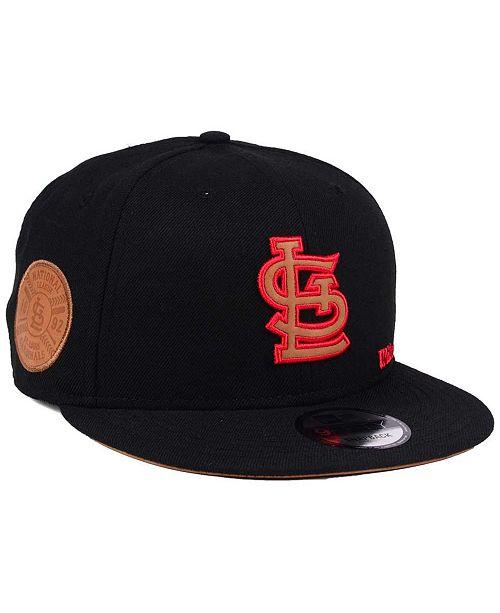e929e66122b ... New Era St. Louis Cardinals X Wilson Side Hit 9FIFTY Snapback Cap ...