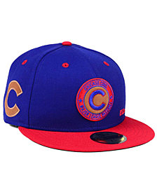 New Era Chicago Cubs X Wilson Circle Patch 59FIFTY Fitted Cap