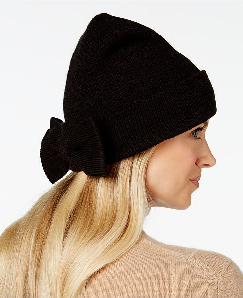 2032552e904f5 kate spade new york Half-Bow Beanie   Reviews - Handbags ...