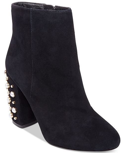 99db8042f43 Steve Madden Yvette Studded Booties & Reviews - Boots - Shoes - Macy's