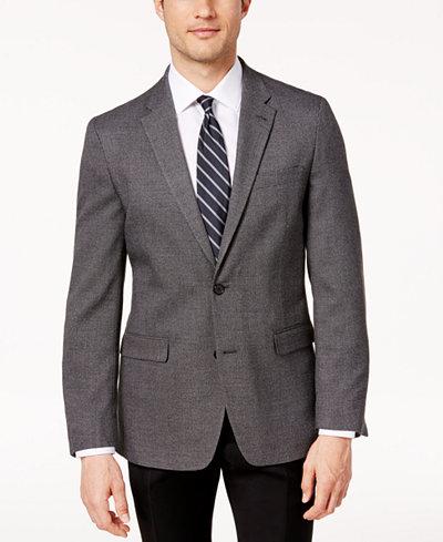 Tommy Hilfiger Men's Modern-Fit Birdseye Sport Coat - Blazers ...