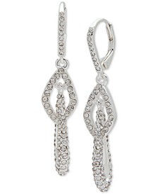 Anne Klein Pavé Multi-Link Drop Earrings