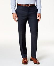 Men's Classic-Fit Microtwill Ultraflex Machine Washable Dress Pants