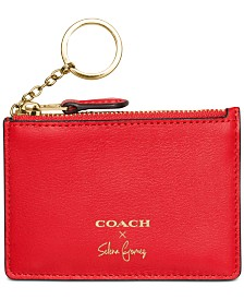 Business card holder shop for and buy business card holder coach selena gomez mini skinny id case in refined calf leather colourmoves