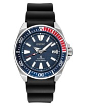Seiko Men s Automatic Prospex Diver Black Silicone Strap Watch 44mm bee6467c0