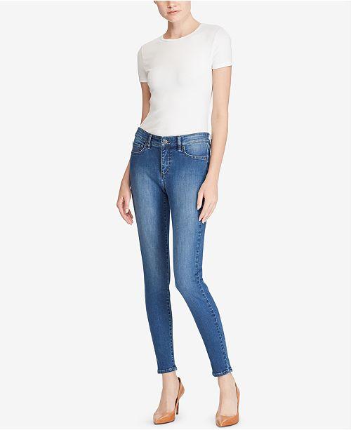 cf6a1bc36b9 ... Lauren Ralph Lauren Ultimate Slimming Premier Cropped Skinny Jeans ...