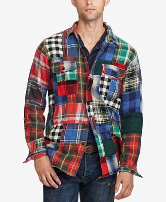Polo Ralph Lauren Men's Standard-Fit Workshirt