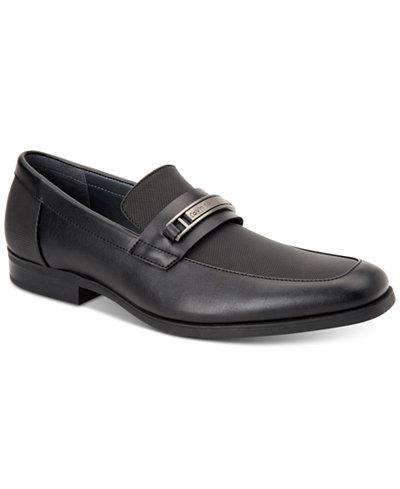 Calvin Klein Men's Jameson Soft Leather Loafers