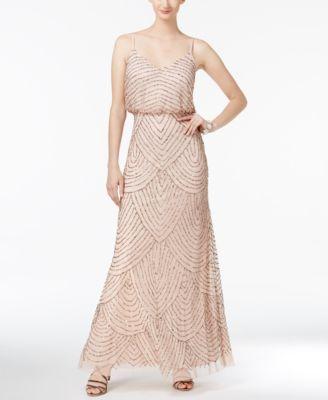 Adrianna Papell Beaded Dress