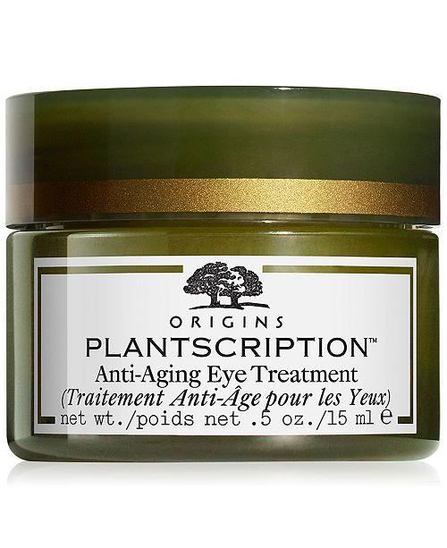 Origins Plantscription Anti Aging Eye Treatment 5 Fl Oz