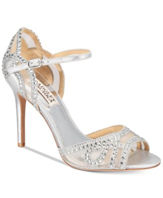 badgley mischka bridal shoes and evening shoes macy s
