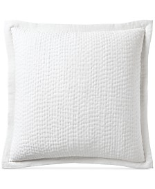 Hotel Collection Voile Quilted European Sham, Created for Macy's