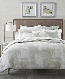 CLOSEOUT! Hotel Collection Brushstroke Duvet Covers, Created for Macy's