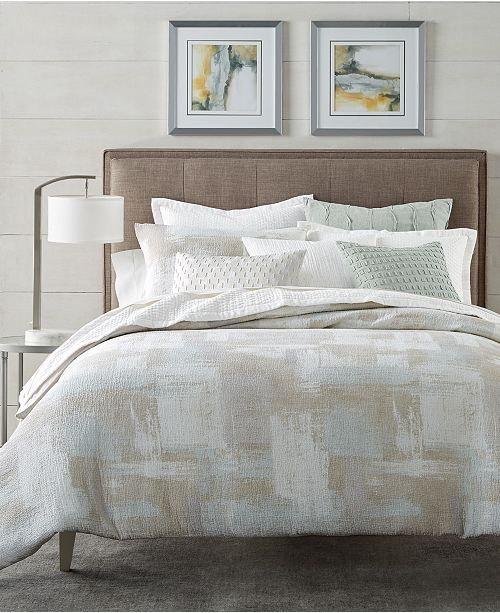 Hotel Collection Brushstroke Bedding Collection, Created