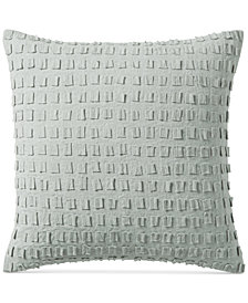 "Hotel Collection Brushstroke 20"" Square Decorative Pillow, Created for Macy's"