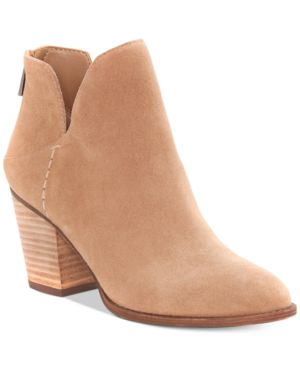 Jessica Simpson Yolah Block-Heel Booties Women