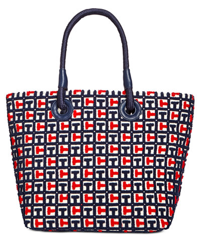 Tommy Hilfiger TH Terry Signature Small Tote