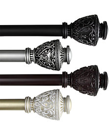 "Rod Desyne Veda 1"" Decorative Curtain Rod Collection"