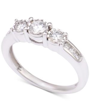 Diamond Three-Stone Engagement Ring (1/2 ct. t.w.)