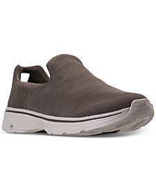 Skechers Men's GO Walk 4 Canvas Sneakers from Finish Line