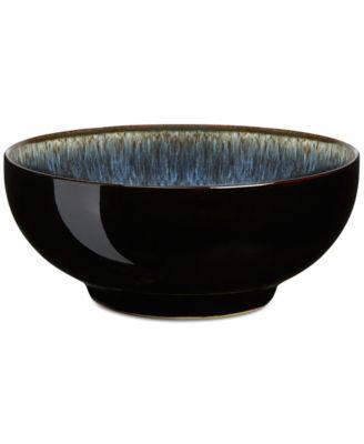 main image; main image ...  sc 1 st  Macyu0027s & Denby Dinnerware Halo Cereal Bowl - Dinnerware - Dining ...