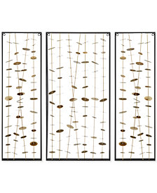 Madison Park Signature Clement Metal Wall Decor, Set of 3