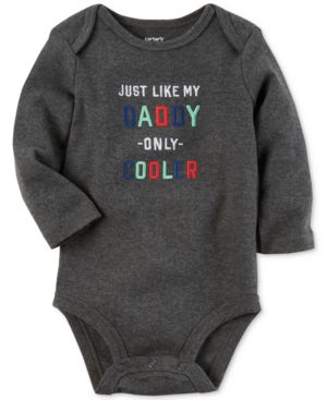 Carter's Like My Daddy Only Cooler Cotton Bodysuit, Baby Boys (0-24 months) 4585977