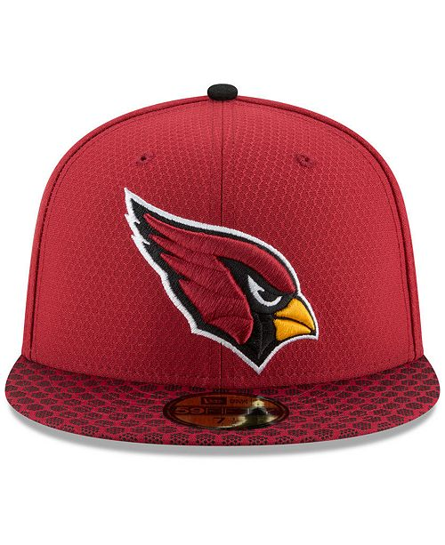 f02808ac02e New Era Boys  Arizona Cardinals Sideline 59FIFTY Fitted Cap - Sports Fan  Shop By Lids - Men - Macy s