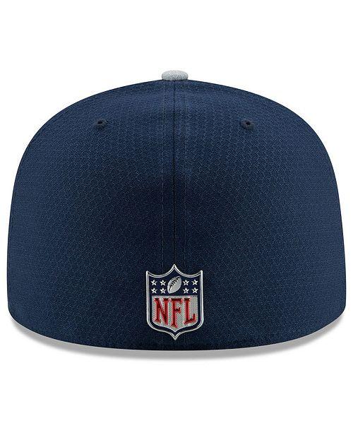 New Era Boys  Dallas Cowboys Sideline 59FIFTY Fitted Cap - Sports ... cef7fea61cea