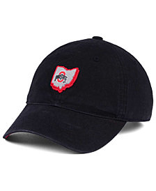 J America Ohio State Buckeyes State Patch Cap