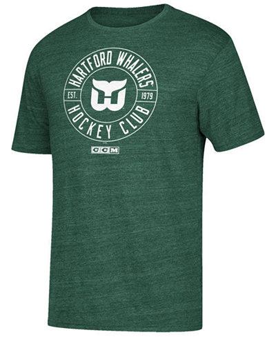 CCM Men's Hartford Whalers Wheelhouse T-Shirt