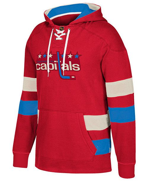 52a189c1960 CCM Men s Washington Capitals Pullover Jersey Hoodie   Reviews ...