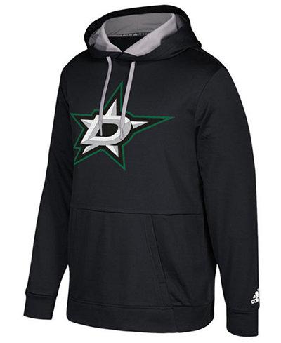 adidas Men's Dallas Stars Primary Pullover Social Hoodie