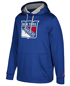 adidas Men's New York Rangers Primary Pullover Social Hoodie