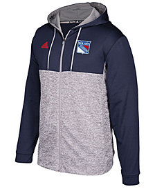 adidas Men's New York Rangers Two Tone Full-Zip Hoodie