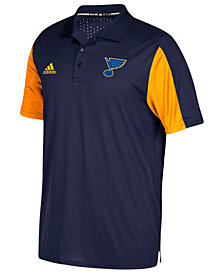 adidas Men's St. Louis Blues Authentic Pro Game Day Polo