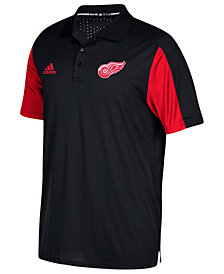 adidas Men's Detroit Red Wings Authentic Pro Game Day Polo