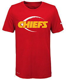 Nike Kansas City Chiefs Legend Icon T-Shirt, Big Boys (8-20)
