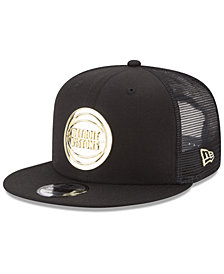 New Era Detroit Pistons Metal Mesh 9FIFTY Snapback Cap