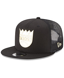 New Era Sacramento Kings Metal Mesh 9FIFTY Snapback Cap