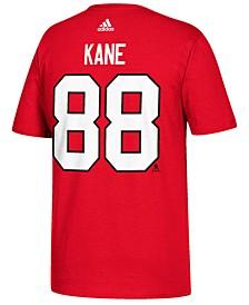 Men's Patrick Kane Chicago Blackhawks Silver Player T-Shirt