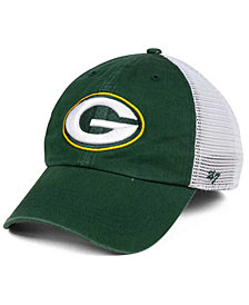 '47 Brand Green Bay Packers Deep Ball Mesh CLOSER Cap