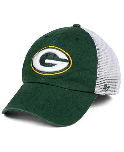 '47 Brand Green Bay Packers Deep Ball Mesh CLOSER Cap