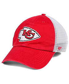 '47 Brand Kansas City Chiefs Deep Ball Mesh CLOSER Cap