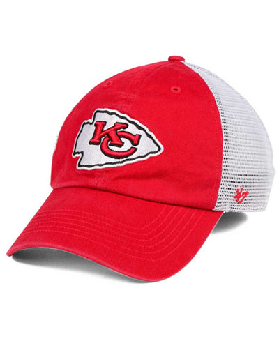 '47 Brand Kansas City Chiefs Deep Ball Mesh CLOSER Cap