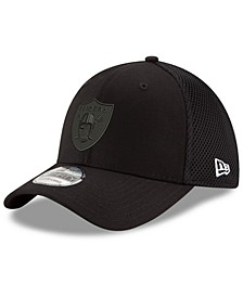 Oakland Raiders Black/White Neo MB 39THIRTY Cap